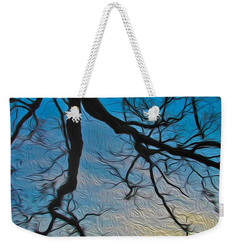 Tree Weekender Tote Bag featuring the photograph Willowbrush by Mykel Davis