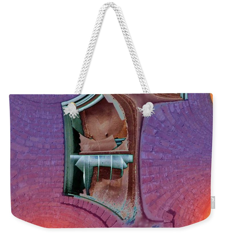 Window Weekender Tote Bag featuring the photograph Window 2 by Tim Allen