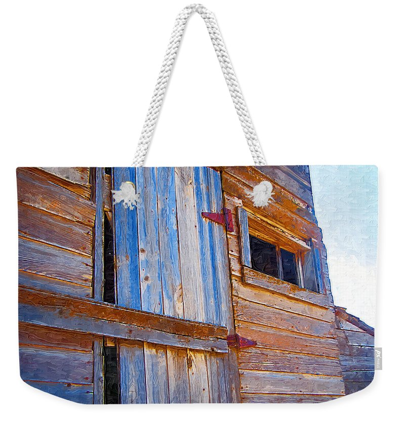 Window Weekender Tote Bag featuring the photograph Window 3 by Susan Kinney