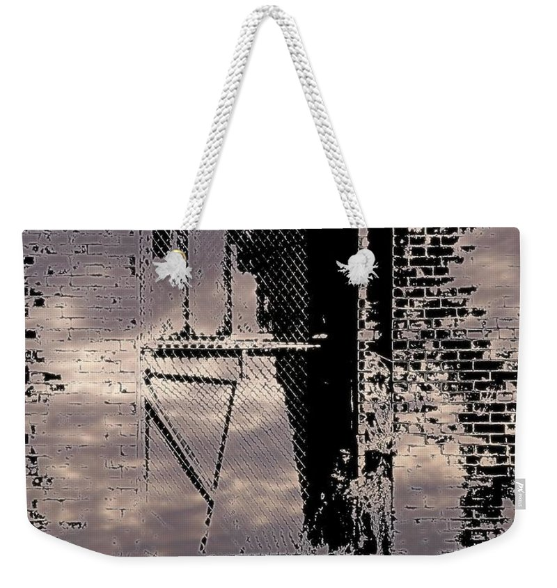Window Weekender Tote Bag featuring the photograph Window 3 by Tim Allen