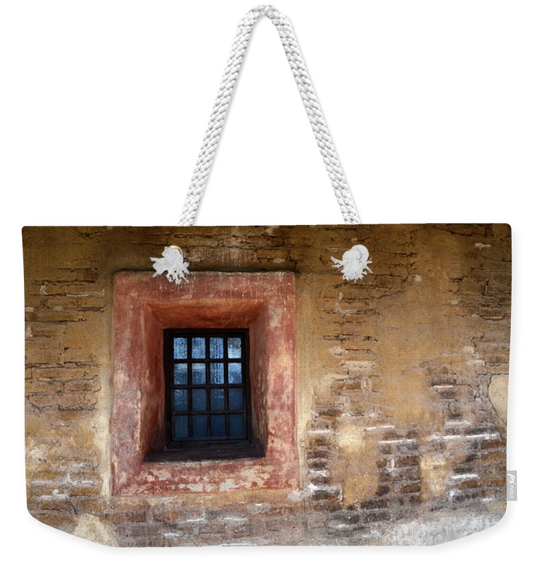 Architecture Weekender Tote Bag featuring the photograph Window Detail 2 by Bob Christopher