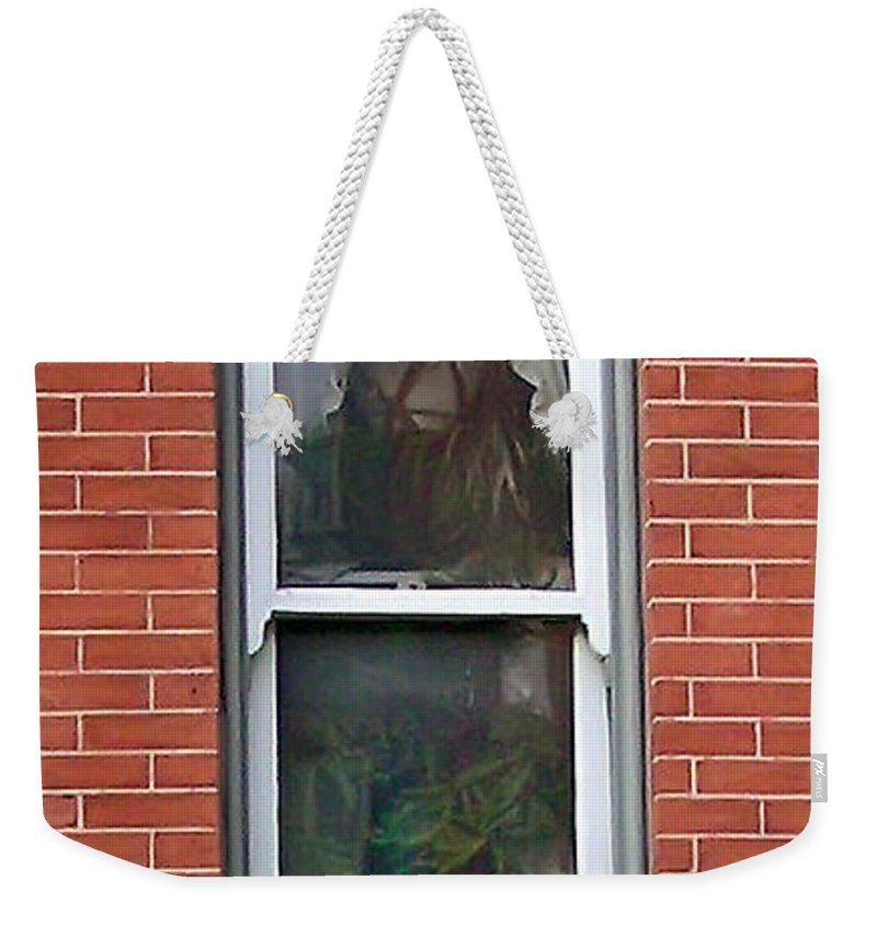 2d Weekender Tote Bag featuring the photograph Window Dressing by Brian Wallace