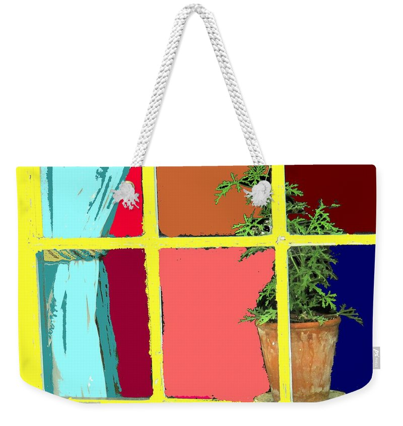 Window Weekender Tote Bag featuring the photograph Window by Ian MacDonald