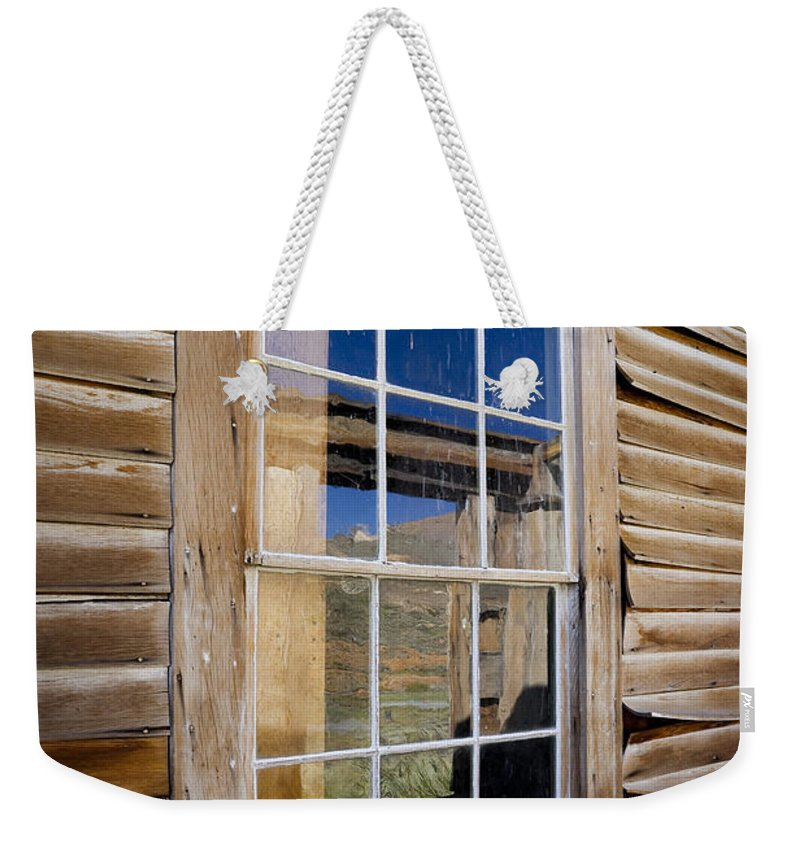 Window Weekender Tote Bag featuring the photograph Window In Perspective by Kelley King