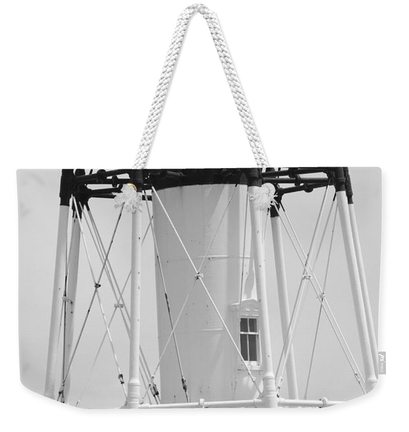 Landscape Weekender Tote Bag featuring the photograph Window Lighthouse by Rob Hans