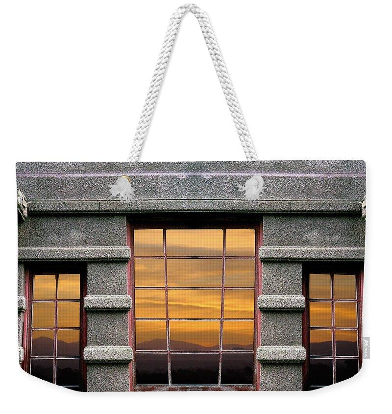Hope Weekender Tote Bag featuring the photograph Window Of Hope by Munir Alawi