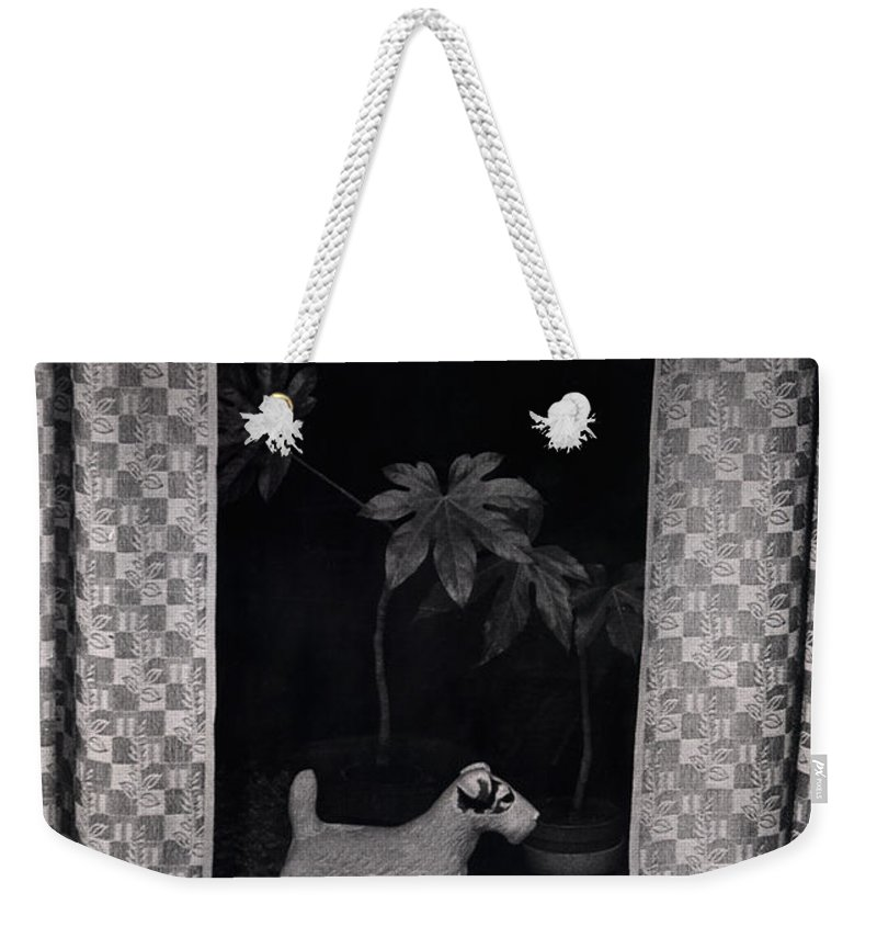 Photograph Weekender Tote Bag featuring the photograph Window Scene by Charles Stuart