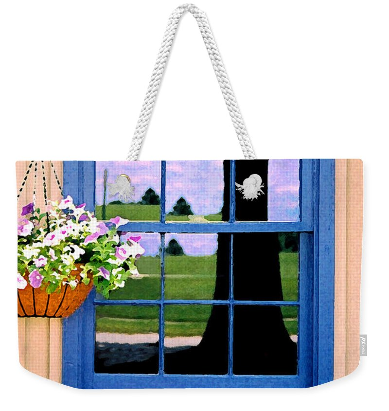 Still Life Weekender Tote Bag featuring the photograph Window by Steve Karol