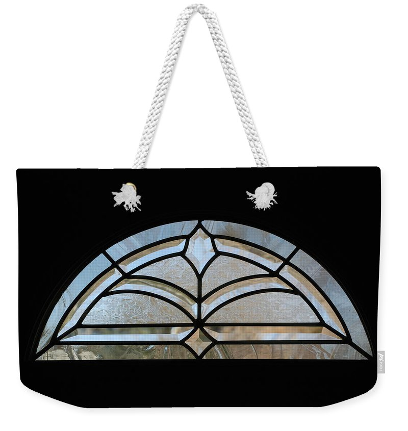 Window Weekender Tote Bag featuring the photograph Window To The World by Rob Hans