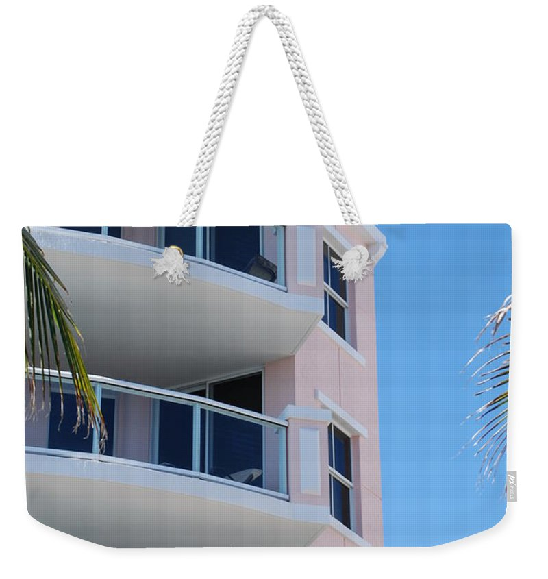 Architecture Weekender Tote Bag featuring the photograph Windows 10 by Rob Hans