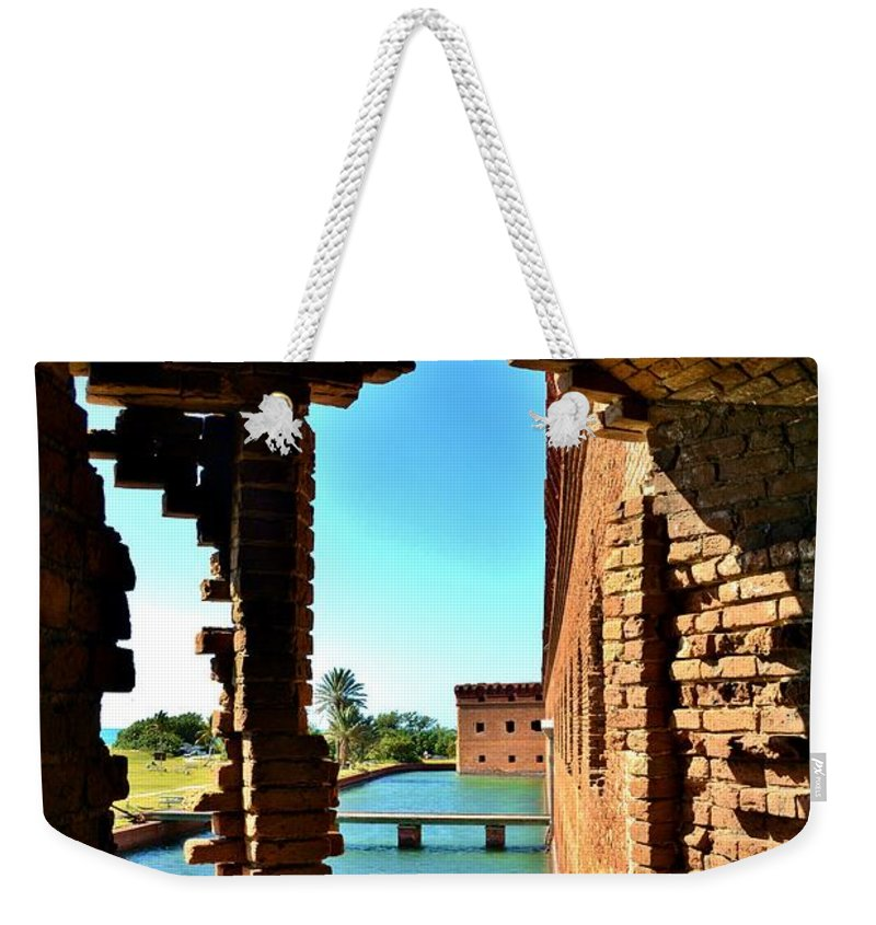 Windows Weekender Tote Bag featuring the photograph Windows To The Past by Lisa Renee Ludlum
