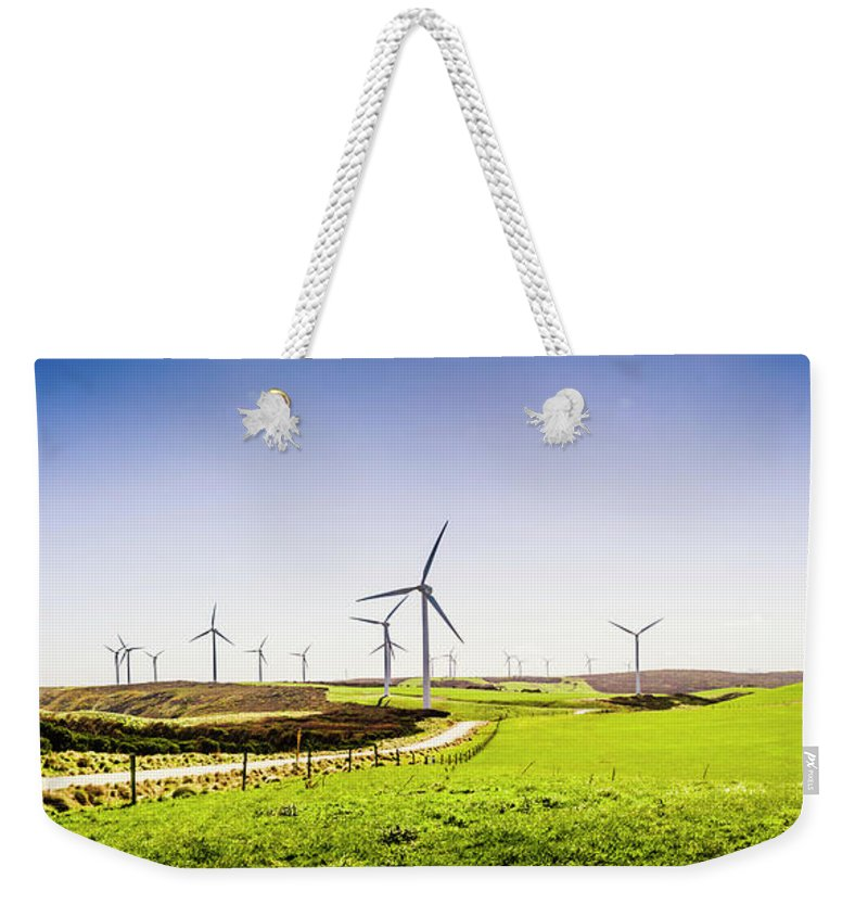 Landscape Weekender Tote Bag featuring the photograph Winds From West Woolnorth by Jorgo Photography - Wall Art Gallery