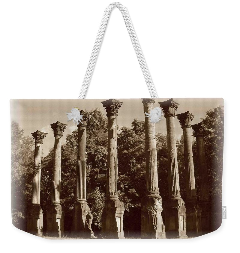 Windsor Weekender Tote Bag featuring the photograph Windsor 2 by Nelson Strong