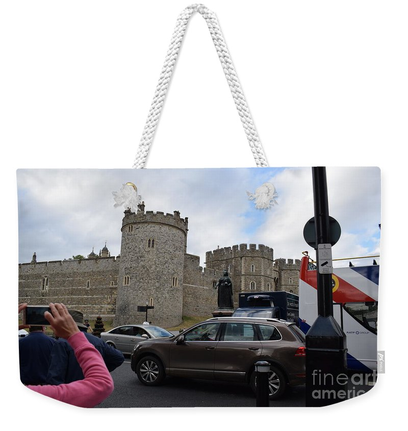Weekender Tote Bag featuring the photograph Windsor Castle #1 by Jordan Butterfield