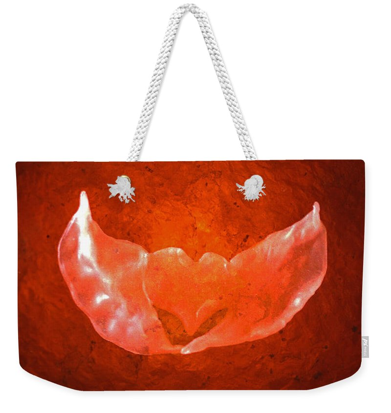 Hart Weekender Tote Bag featuring the photograph Winged Heart by Casper Cammeraat