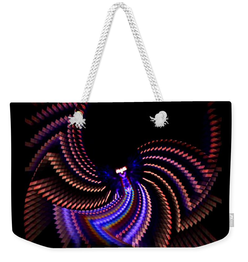 Chaos Weekender Tote Bag featuring the photograph Wings Of Light by Charles Stuart