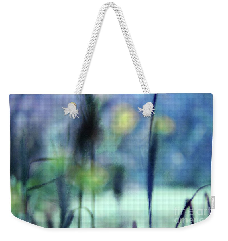 Nature Weekender Tote Bag featuring the photograph Winter Dreams Abstract by Karen Adams