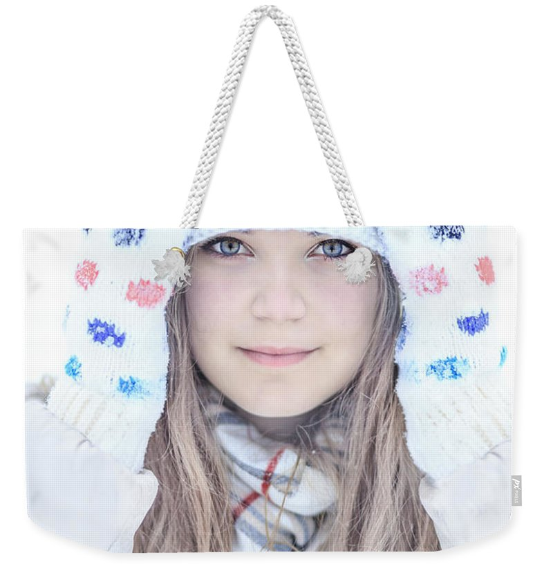 Kremsdorf Weekender Tote Bag featuring the photograph Winter Dreams by Evelina Kremsdorf