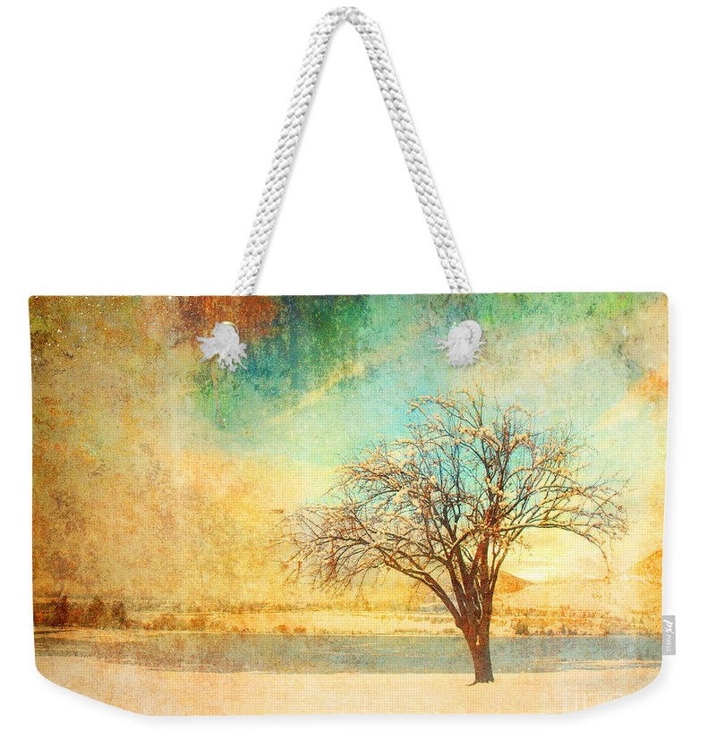 Tree Weekender Tote Bag featuring the photograph Winter Dreams by Tara Turner
