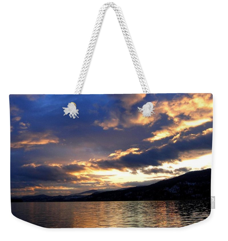 Winter Exhibition Weekender Tote Bag featuring the photograph Winter Exhibition by Will Borden