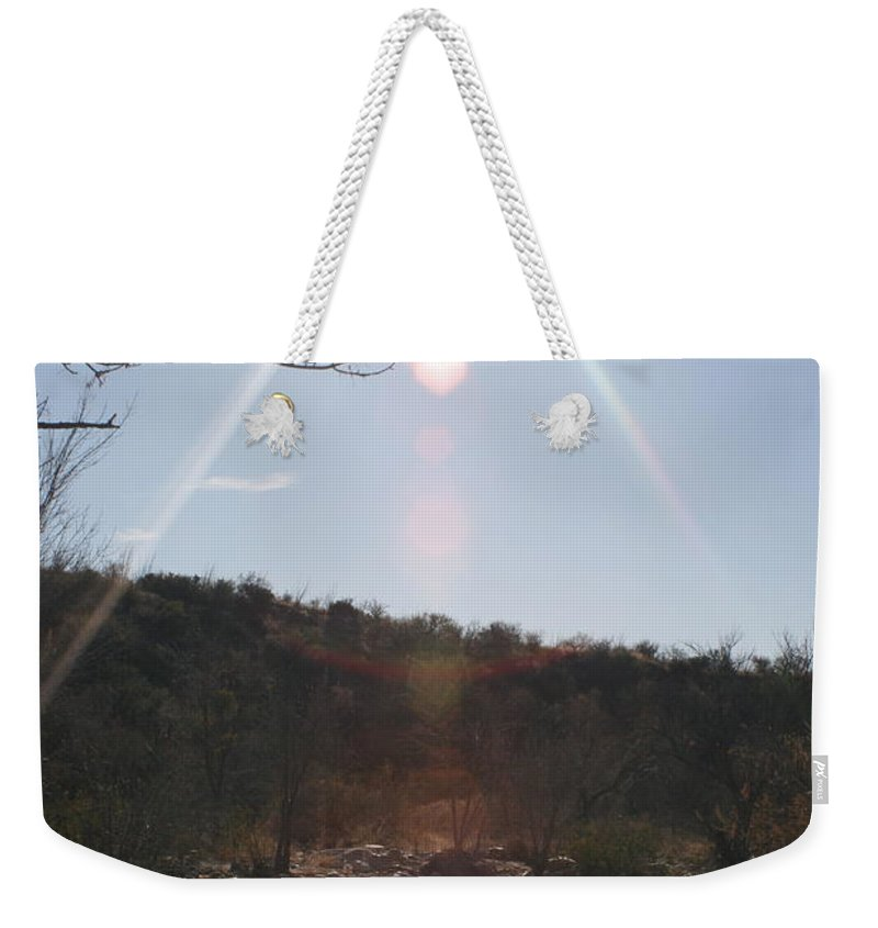 Winter Weekender Tote Bag featuring the photograph Winter Light by Nadine Rippelmeyer