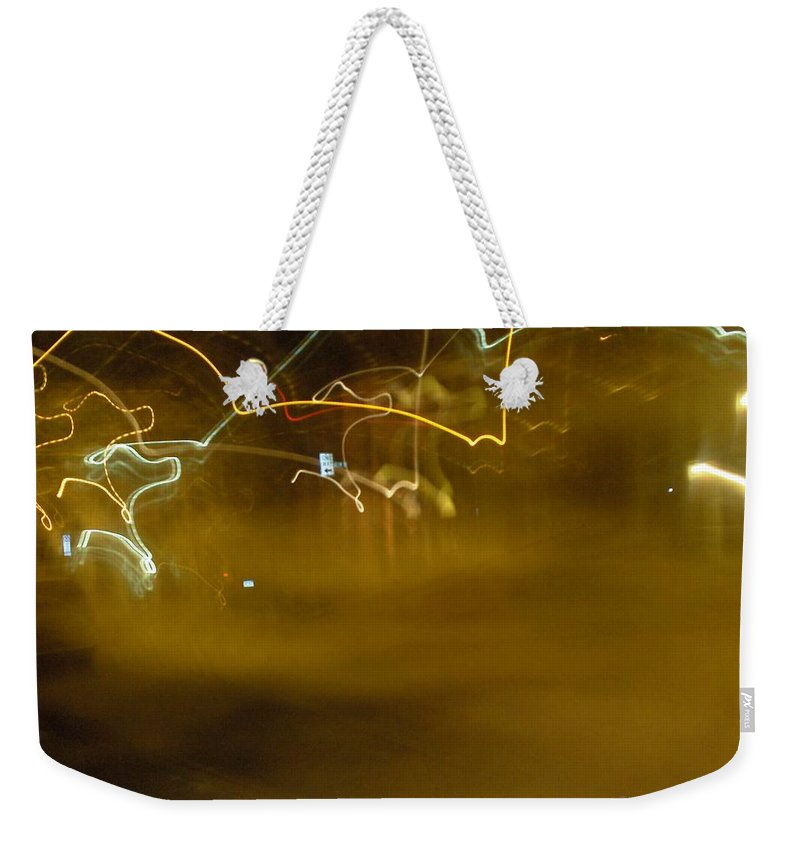 Photograph Weekender Tote Bag featuring the photograph Winter Lights by Thomas Valentine