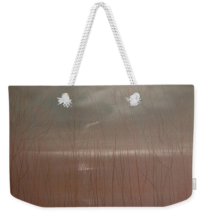Dusk Weekender Tote Bag featuring the painting Winter Of Hope by Jack Diamond