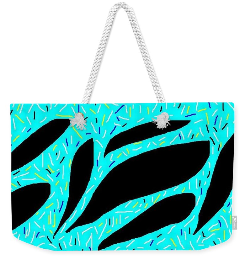 Art Weekender Tote Bag featuring the painting Wish - 232 by Mirfarhad Moghimi