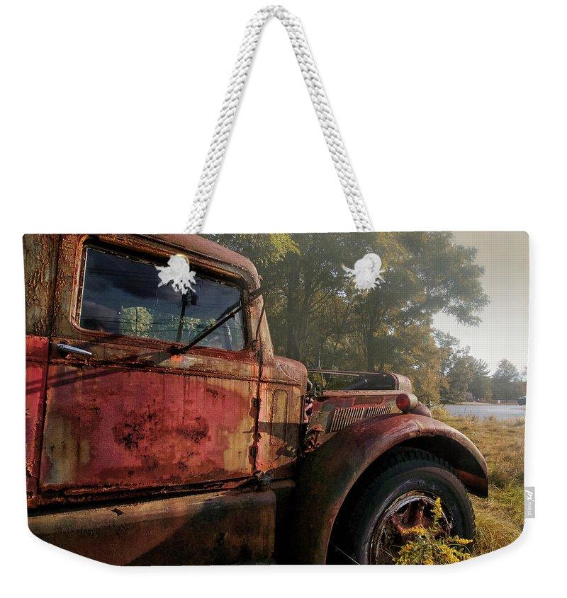 Truck Weekender Tote Bag featuring the photograph Wishful Thinking by Jerry LoFaro