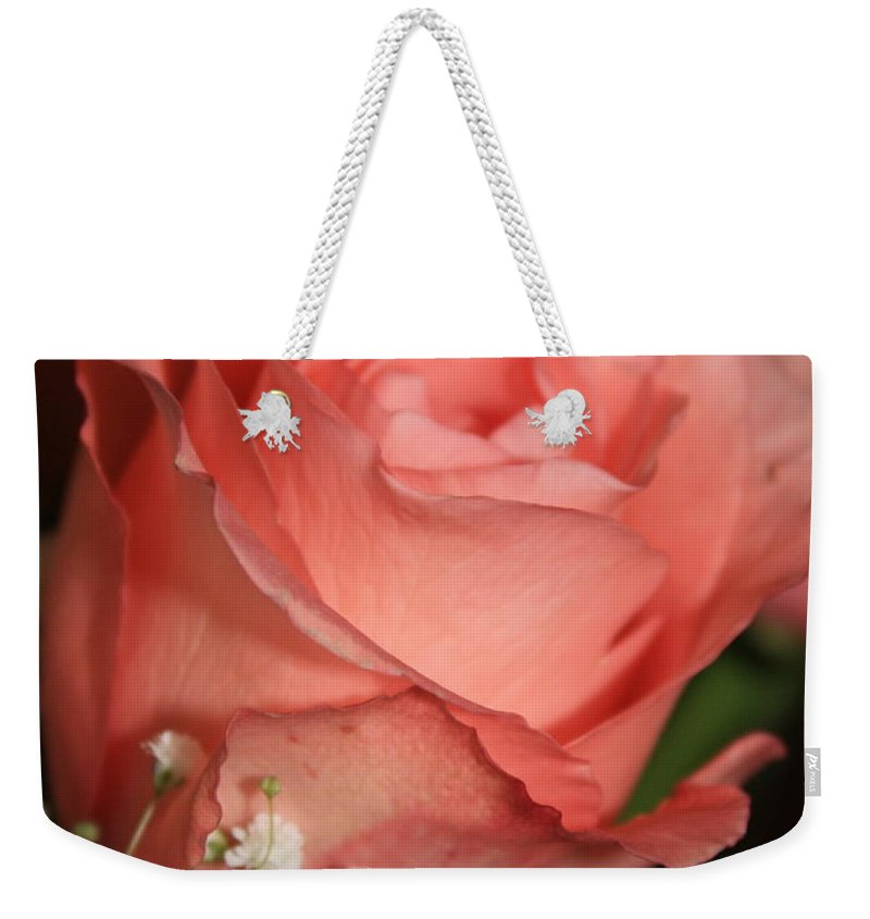 Card Weekender Tote Bag featuring the photograph Wishing You Happiness Card by Carol Groenen
