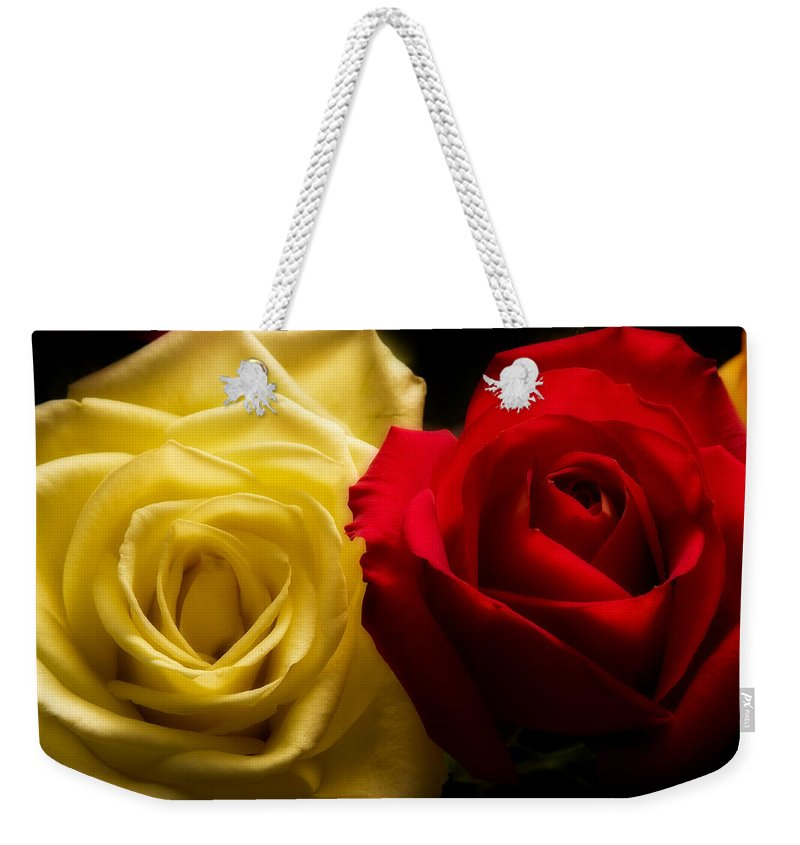 Yellow Weekender Tote Bag featuring the photograph With All My Love by James BO Insogna