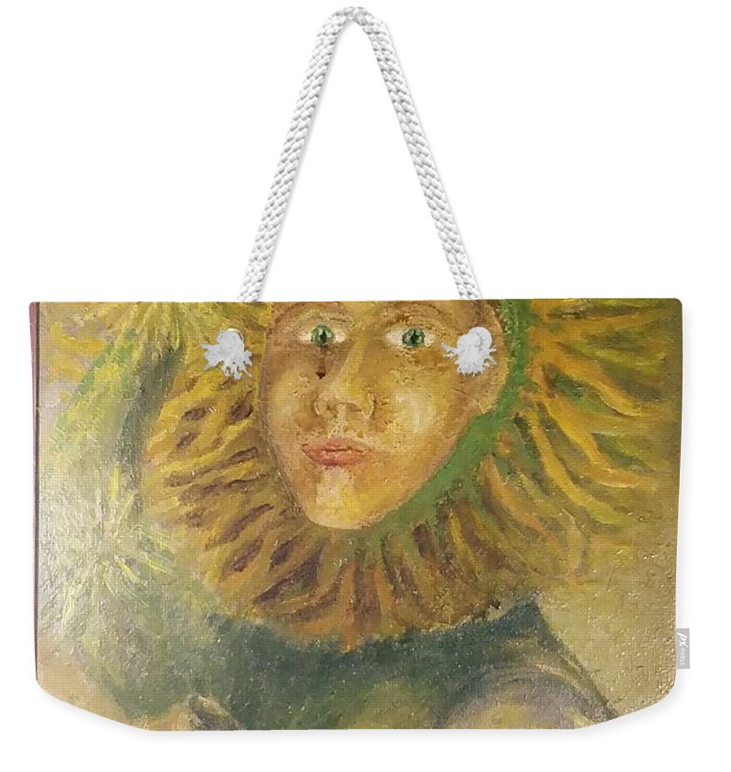 Wizard Of Oz Weekender Tote Bag featuring the painting Wizard Of Oz by Timothy Michael Foley