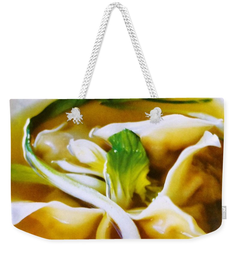 Figs Weekender Tote Bag featuring the photograph Won Ton by Lord Frederick Lyle Morris - Disabled Veteran