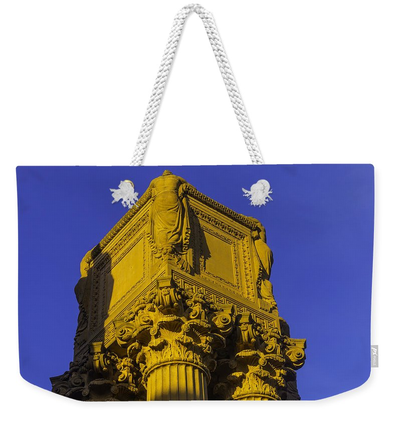 Palace Of Fine Arts Weekender Tote Bag featuring the photograph Wonderful Palace Of Fine Arts by Garry Gay