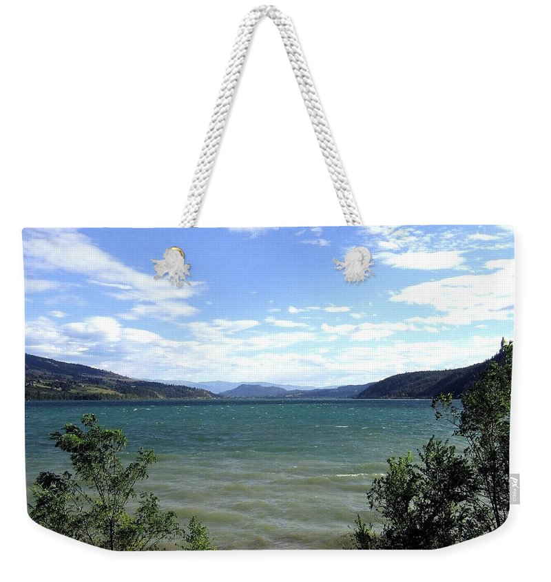 Wood Lake Weekender Tote Bag featuring the photograph Wood Lake In Summer by Will Borden