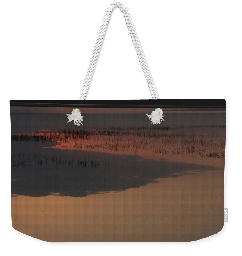 Sunrise Weekender Tote Bag featuring the photograph Worden's Pond Sunrise 1 by Steven Natanson
