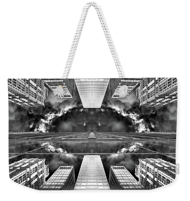 Architecture Weekender Tote Bag featuring the photograph Worlds End by Az Jackson