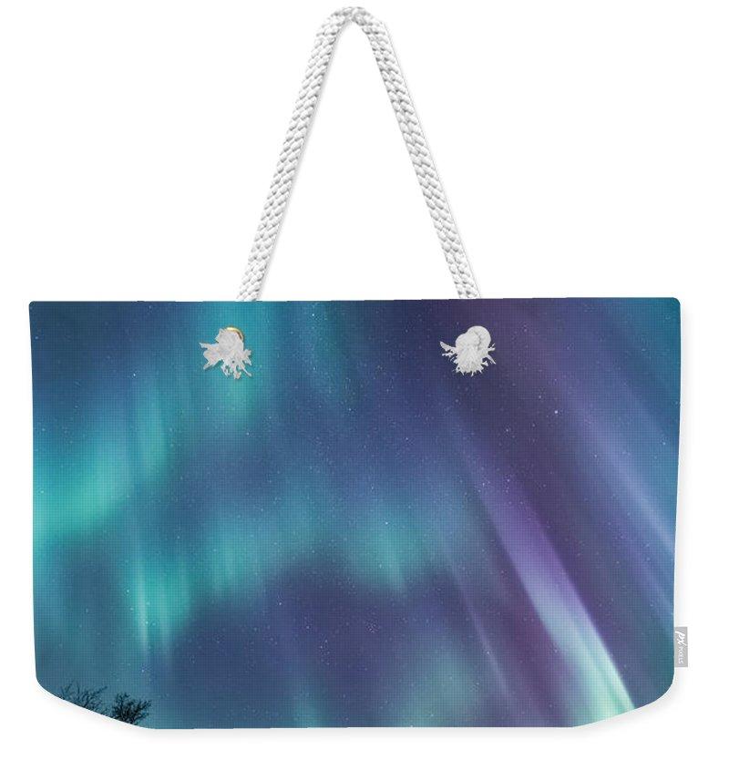 Northern Weekender Tote Bags