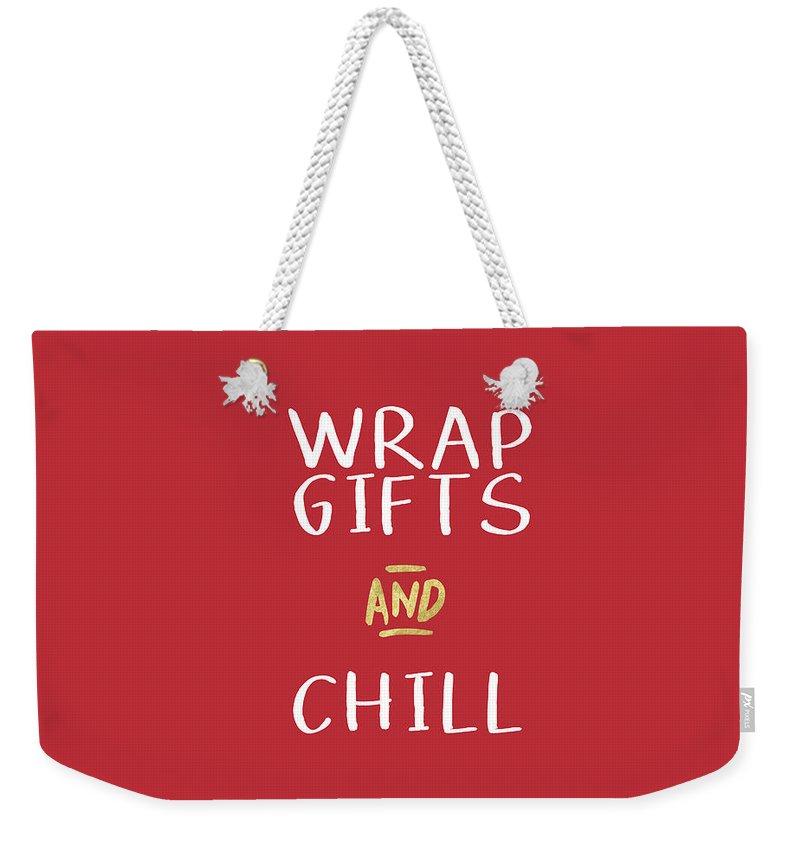 Wrap Weekender Tote Bags