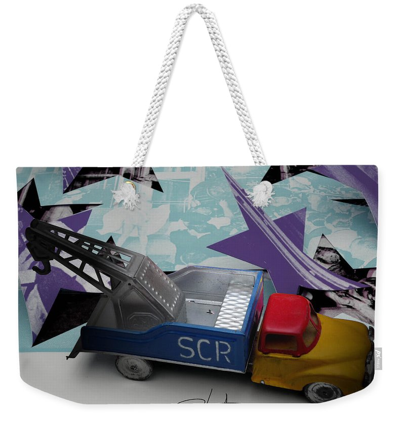 Marilyn Weekender Tote Bag featuring the photograph Wrecking Crew by Charles Stuart