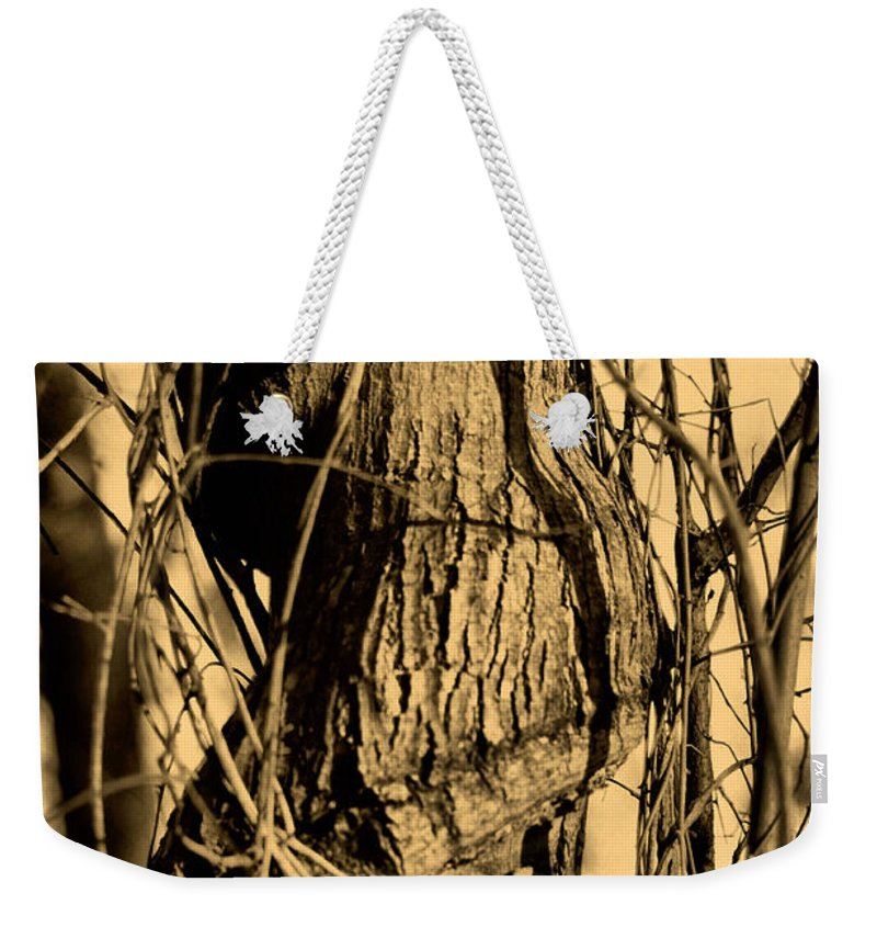 Tree Weekender Tote Bag featuring the photograph Writhe Of My Soul by September Stone