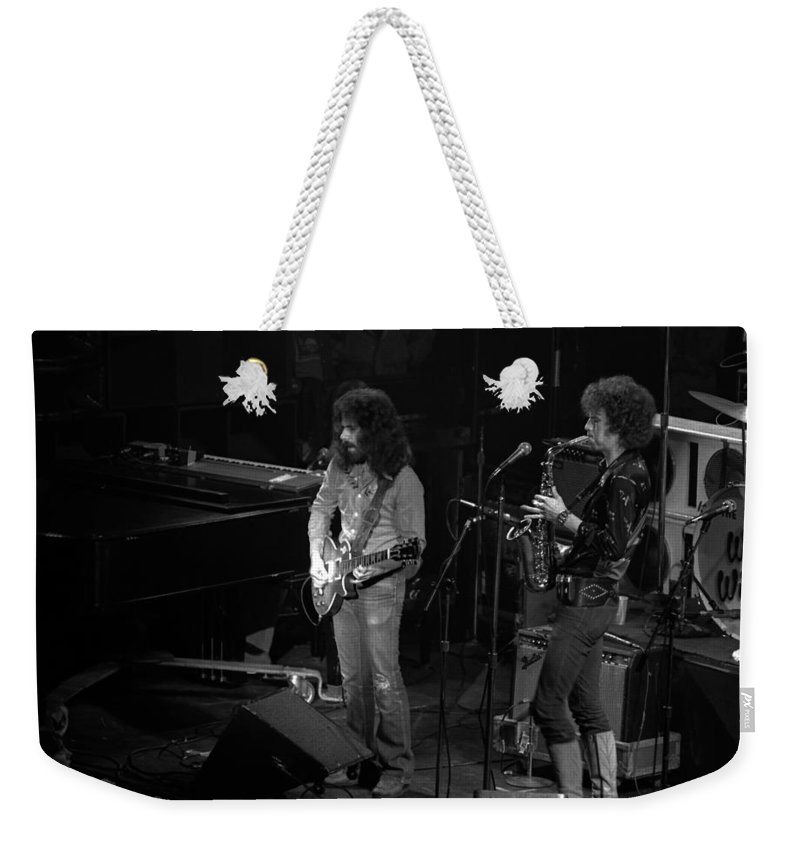 Classic Rock Weekender Tote Bag featuring the photograph Ww#3 by Ben Upham