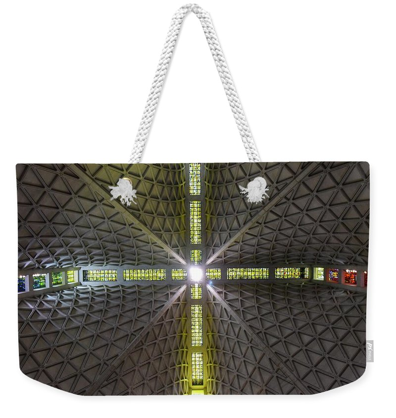 Cathedral Weekender Tote Bag featuring the photograph X Marks The Spot by Rand