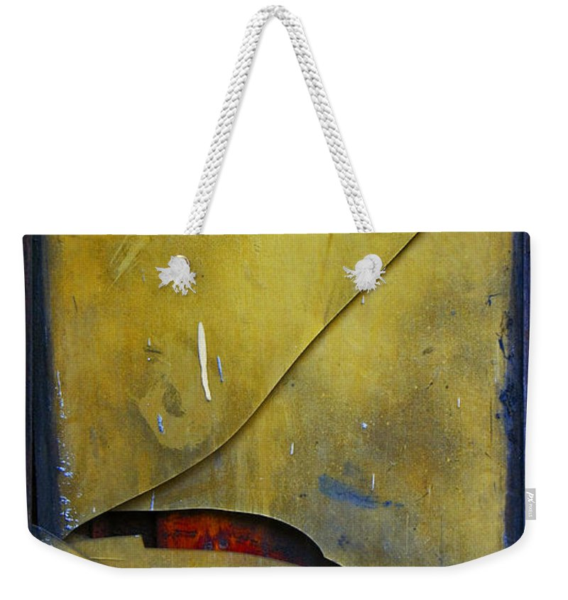Abstract Weekender Tote Bag featuring the photograph Xalapa Miro by Skip Hunt