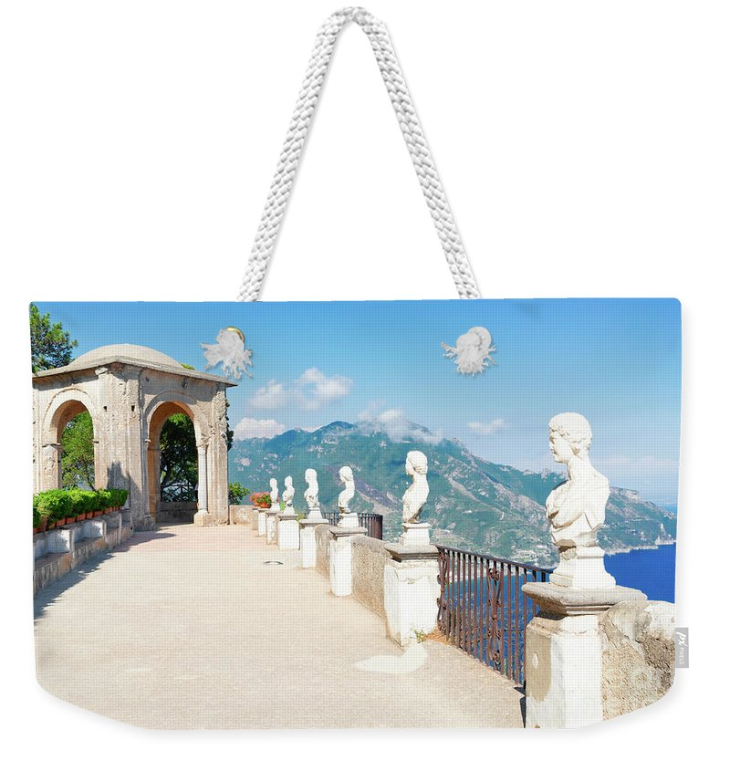 Amalfi Weekender Tote Bag featuring the photograph Ravello Village, Amalfi Coast by Anastasy Yarmolovich