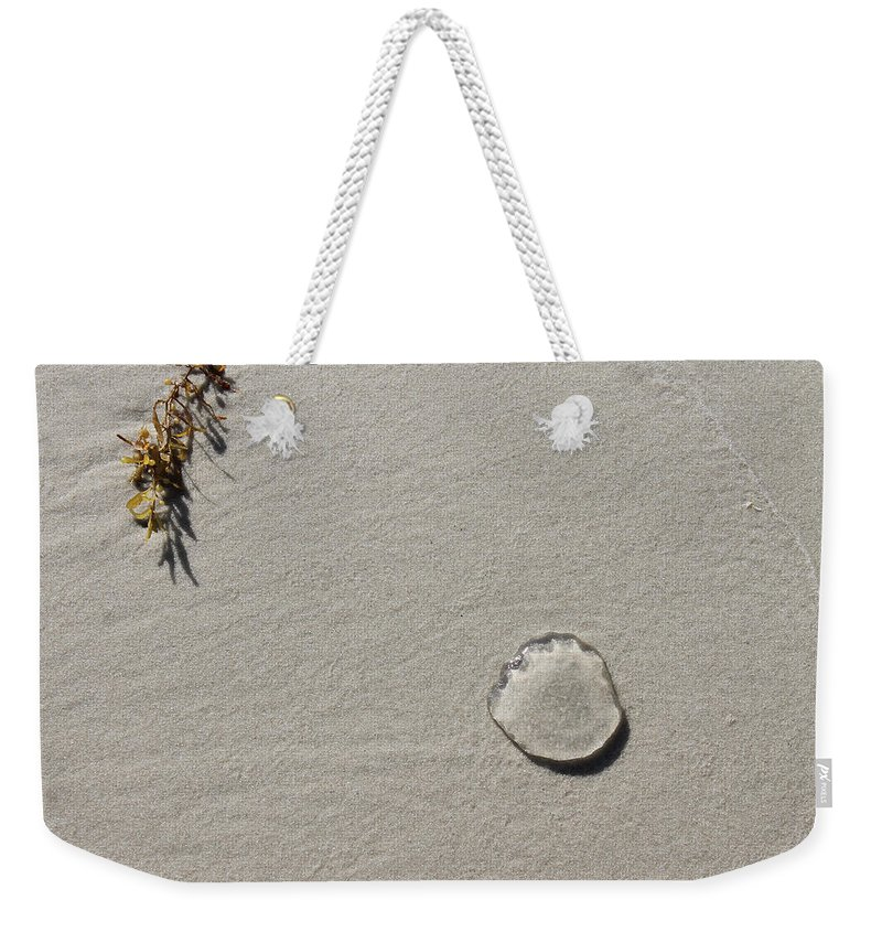 Kelp Weekender Tote Bag featuring the photograph Yearning by Laura Martin