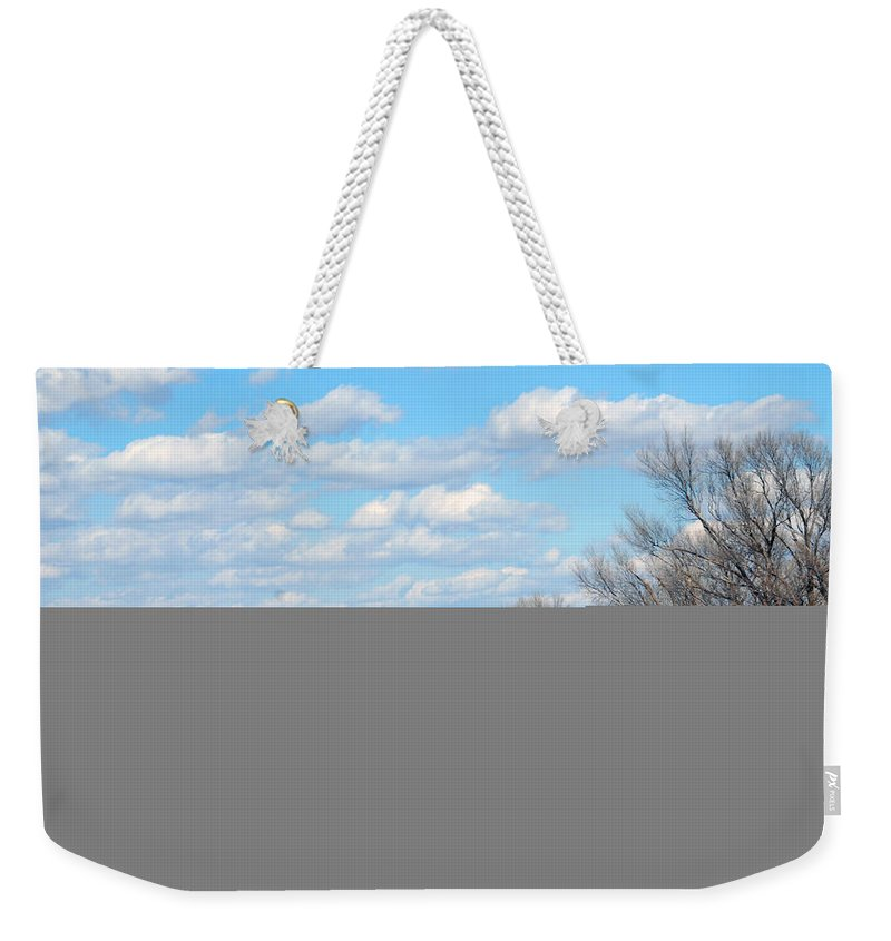 Route 66 Weekender Tote Bag featuring the photograph Yellow Bridge On Route 66 by Susanne Van Hulst