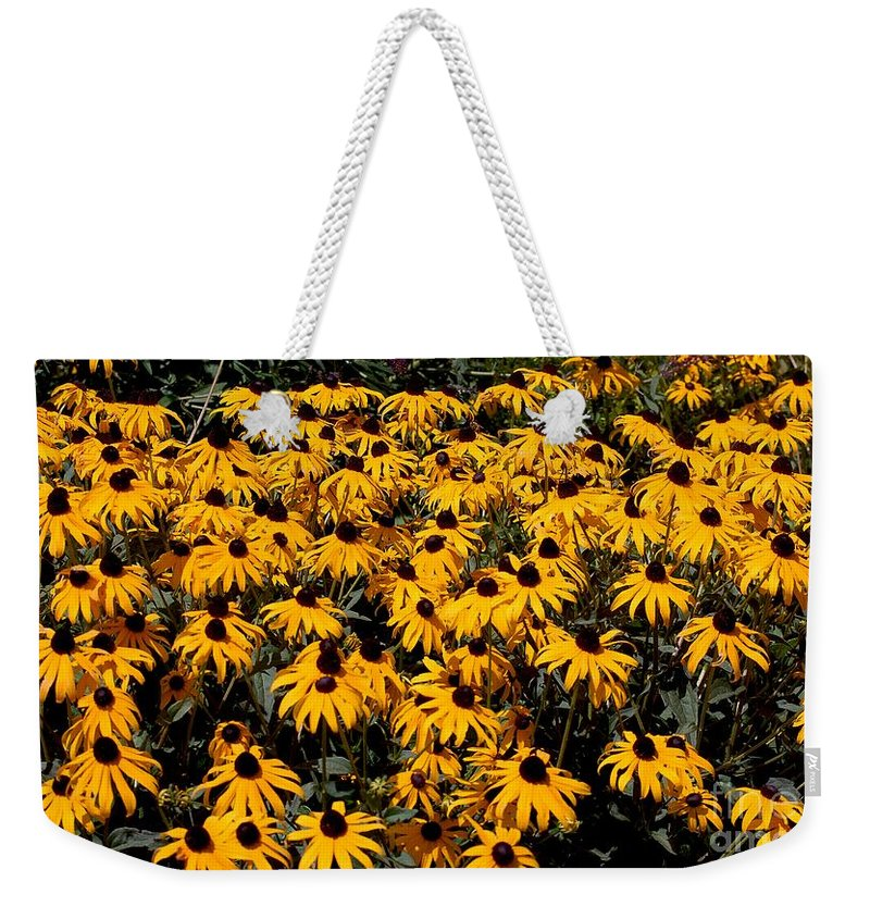 Digital Photo Weekender Tote Bag featuring the photograph Yellow is the color of ..... by David Lane