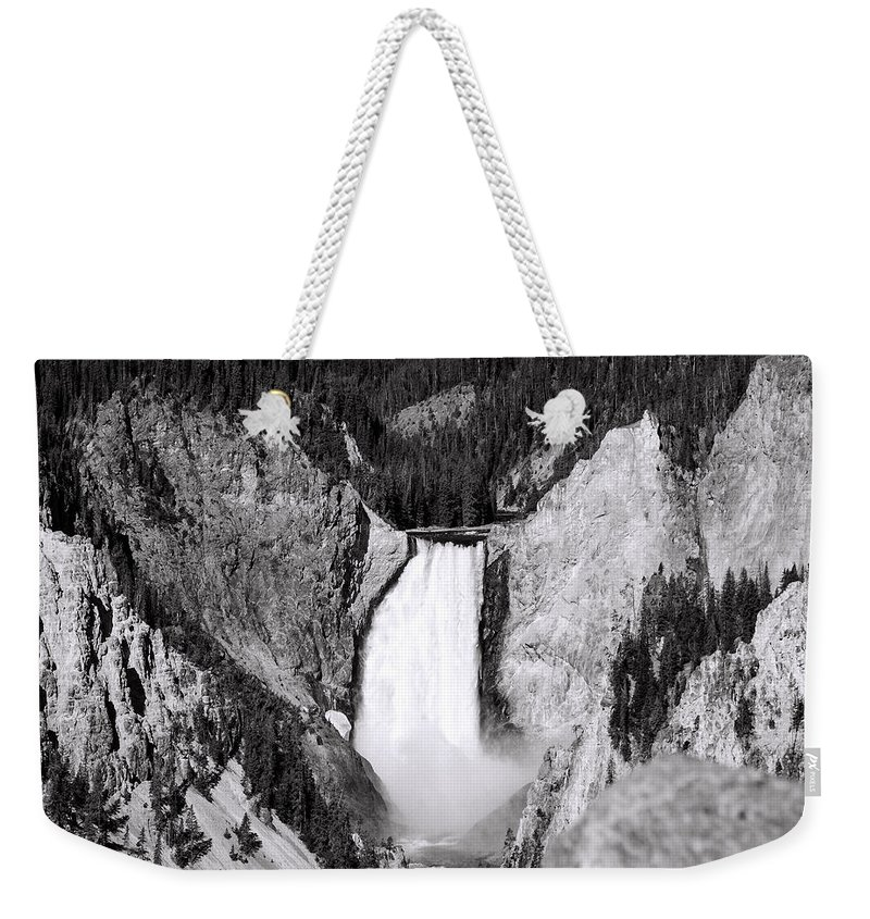 America Weekender Tote Bag featuring the photograph Yellowstone 142 by Ingrid Smith-Johnsen
