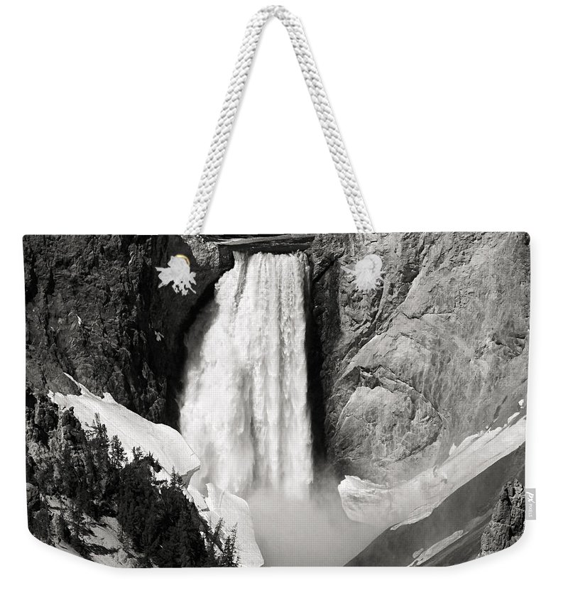 America Weekender Tote Bag featuring the photograph Yellowstone 143 by Ingrid Smith-Johnsen